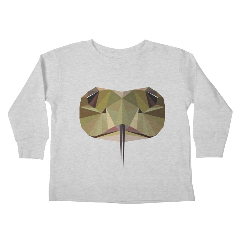 Snake Eyes Kids Toddler Longsleeve T-Shirt by igloo's Shiny Things