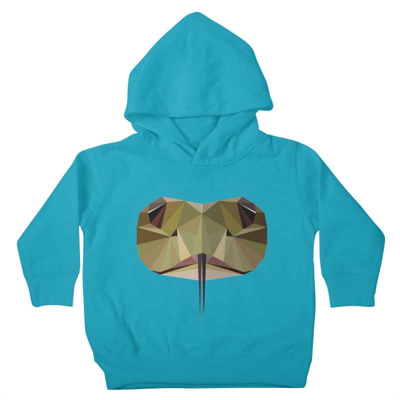 Snake Eyes Kids Toddler Pullover Hoody by igloo's Shiny Things