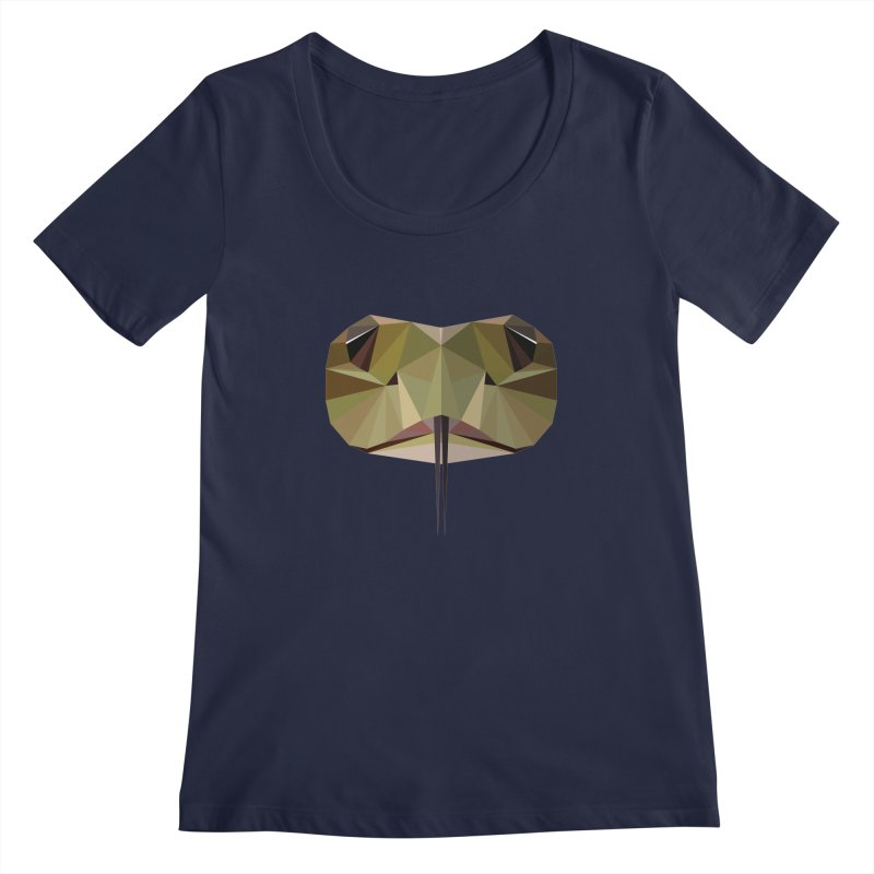 Snake Eyes Women's Scoopneck by igloo's Shiny Things