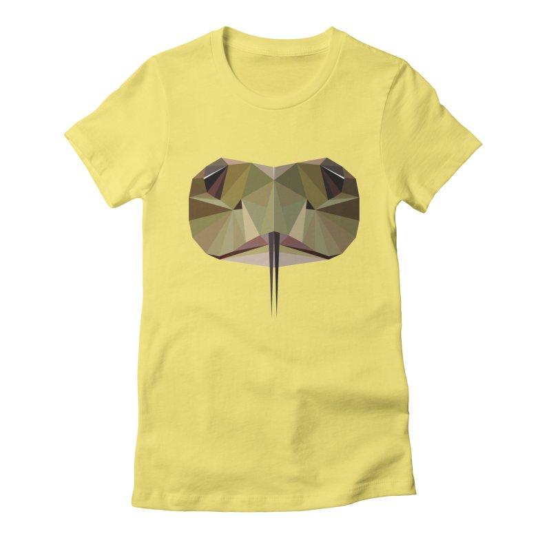 Snake Eyes Women's Fitted T-Shirt by igloo's Shiny Things