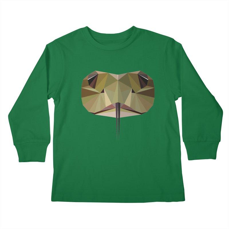 Snake Eyes Kids Longsleeve T-Shirt by igloo's Shiny Things