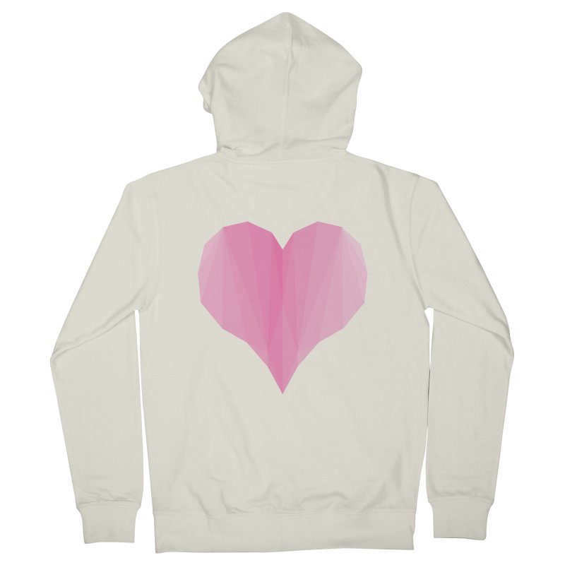 Pieces of Love Men's Zip-Up Hoody by igloo's Shiny Things