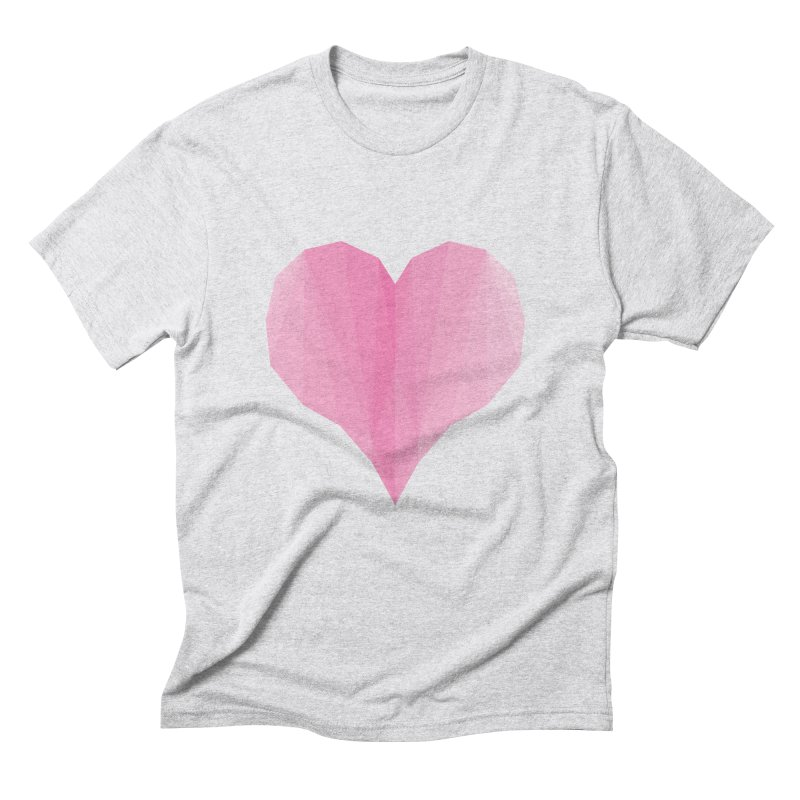 Pieces of Love Men's Triblend T-Shirt by igloo's Shiny Things