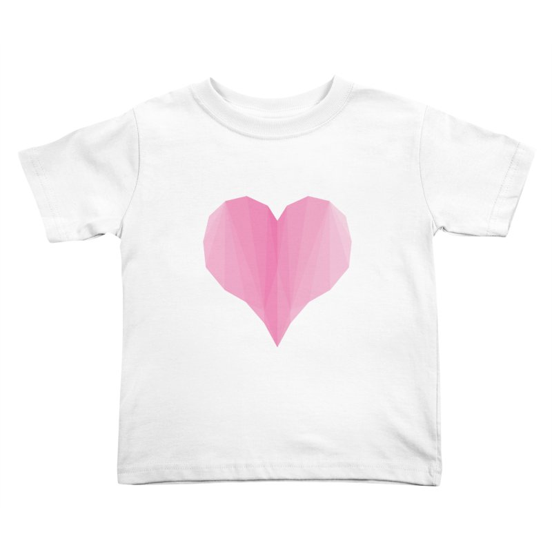 Pieces of Love Kids Toddler T-Shirt by igloo's Shiny Things