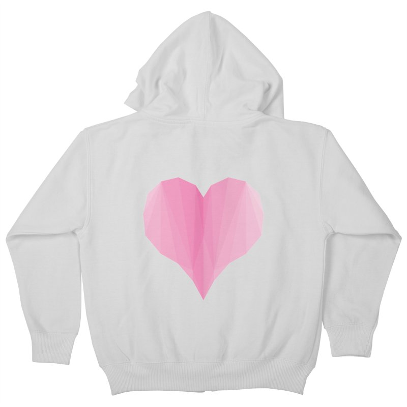 Pieces of Love Kids Zip-Up Hoody by igloo's Shiny Things