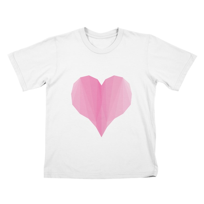 Pieces of Love Kids T-Shirt by igloo's Shiny Things
