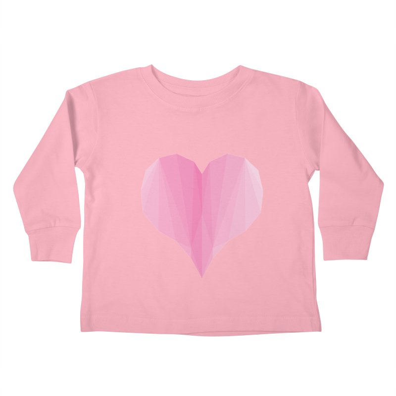 Pieces of Love Kids Toddler Longsleeve T-Shirt by igloo's Shiny Things