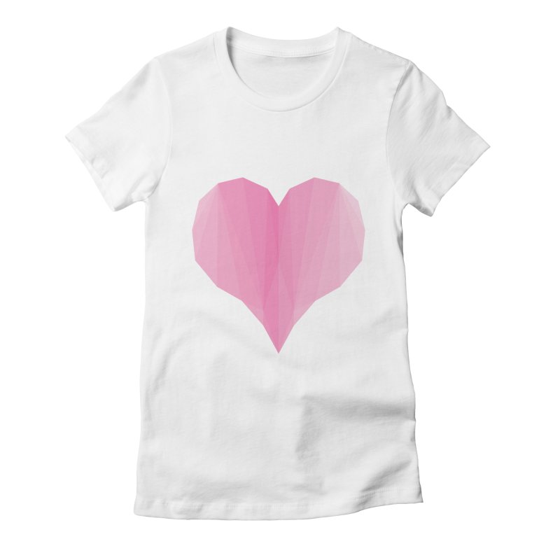Pieces of Love Women's Fitted T-Shirt by igloo's Shiny Things