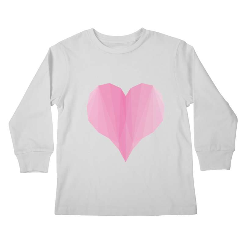 Pieces of Love Kids Longsleeve T-Shirt by igloo's Shiny Things