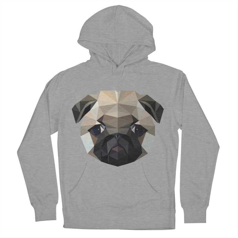 POLY PUG LIFE Women's Pullover Hoody by igloo's Shiny Things