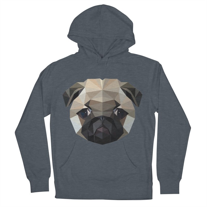 POLY PUG LIFE Men's Pullover Hoody by igloo's Shiny Things