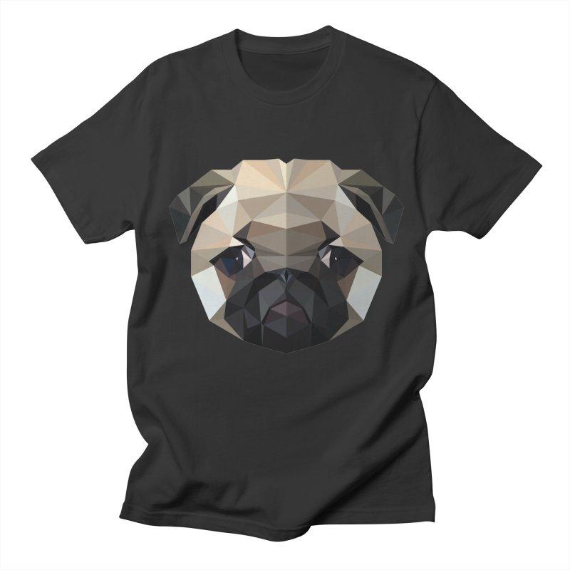 POLY PUG LIFE Men's T-Shirt by igloo's Shiny Things