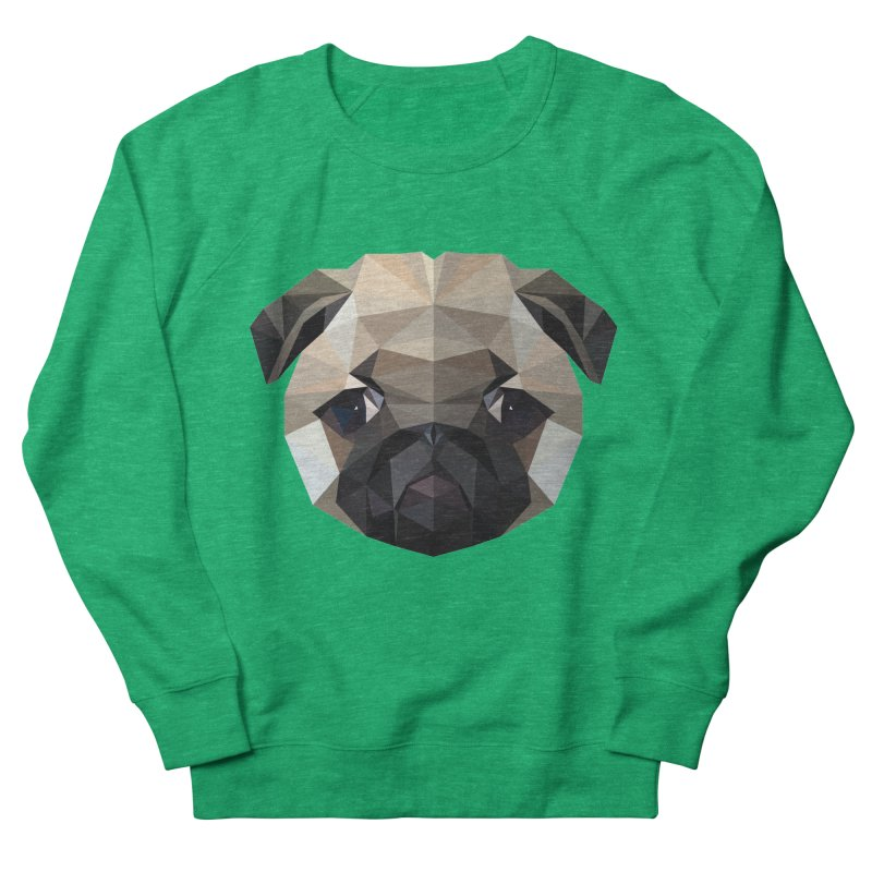 POLY PUG LIFE Women's Sweatshirt by igloo's Shiny Things