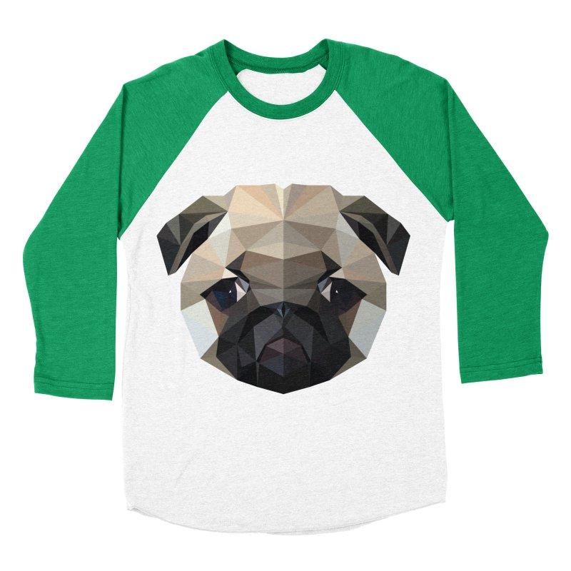 POLY PUG LIFE Women's Baseball Triblend T-Shirt by igloo's Shiny Things