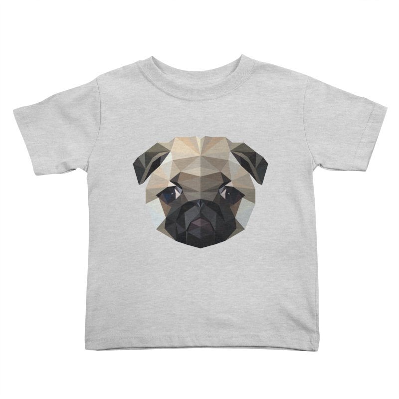 POLY PUG LIFE Kids Toddler T-Shirt by igloo's Shiny Things