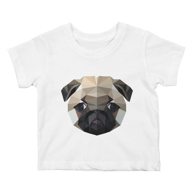 POLY PUG LIFE Kids Baby T-Shirt by igloo's Shiny Things