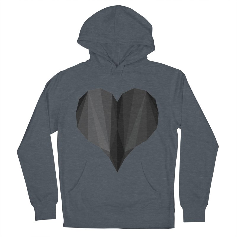Dark Heart Men's Pullover Hoody by igloo's Shiny Things