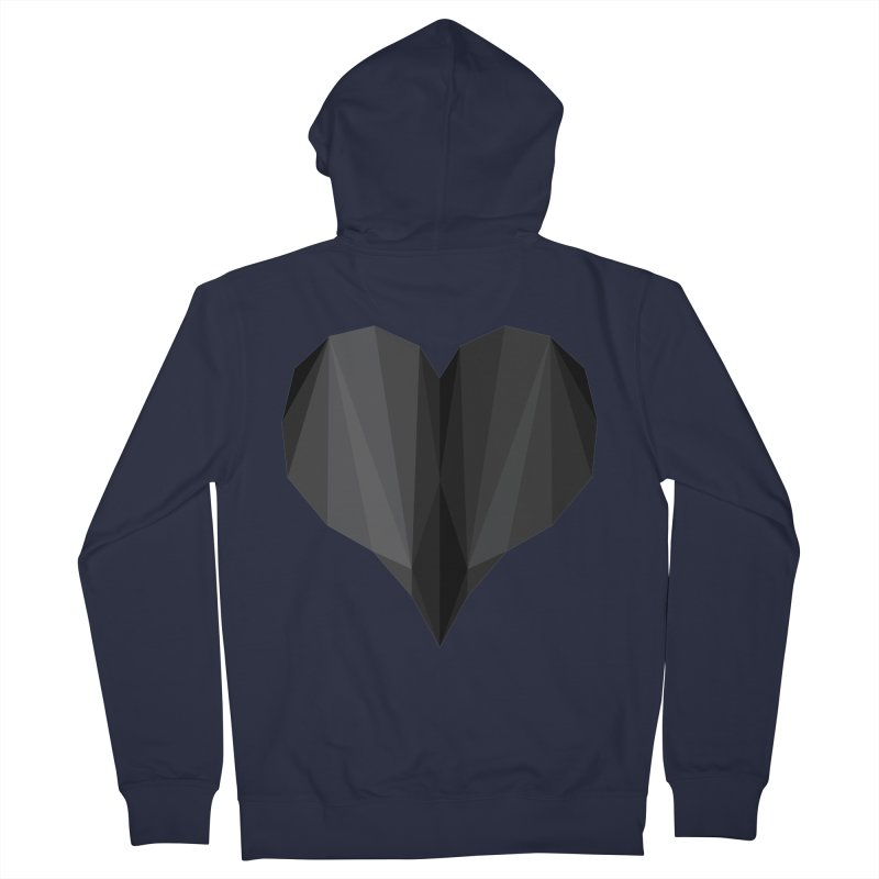 Dark Heart Women's Zip-Up Hoody by igloo's Shiny Things