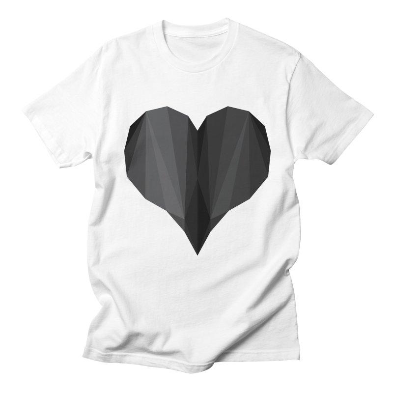 Dark Heart Men's T-Shirt by igloo's Shiny Things