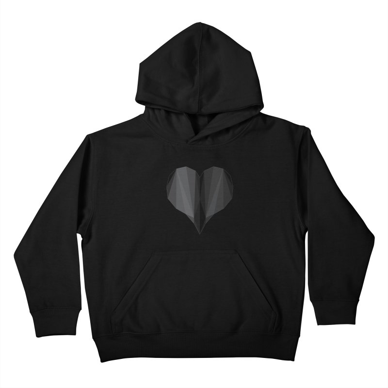 Dark Heart Kids Pullover Hoody by igloo's Shiny Things