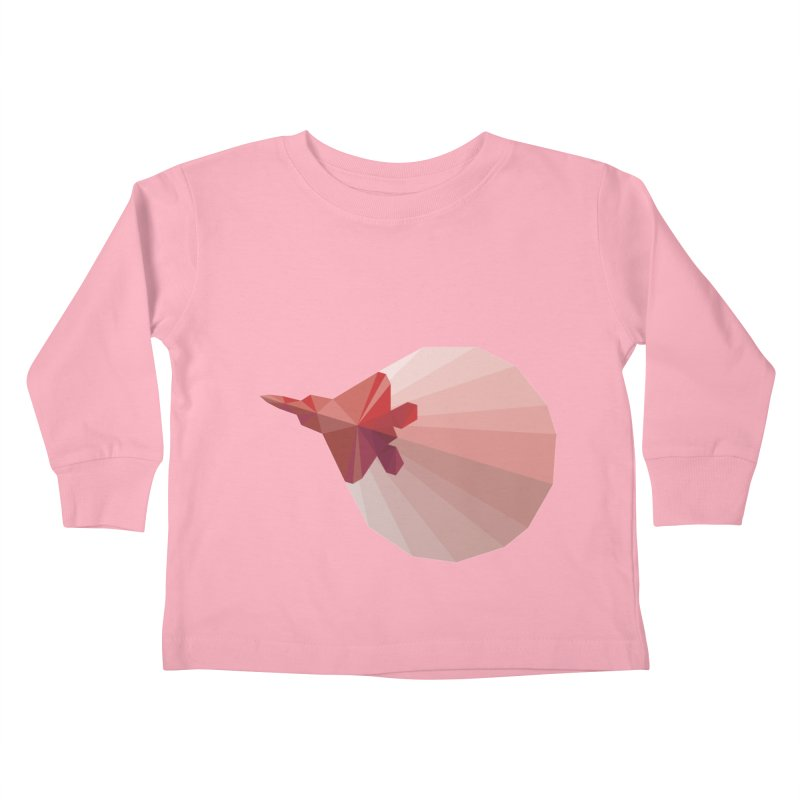 Come Fly With Me Kids Toddler Longsleeve T-Shirt by igloo's Shiny Things