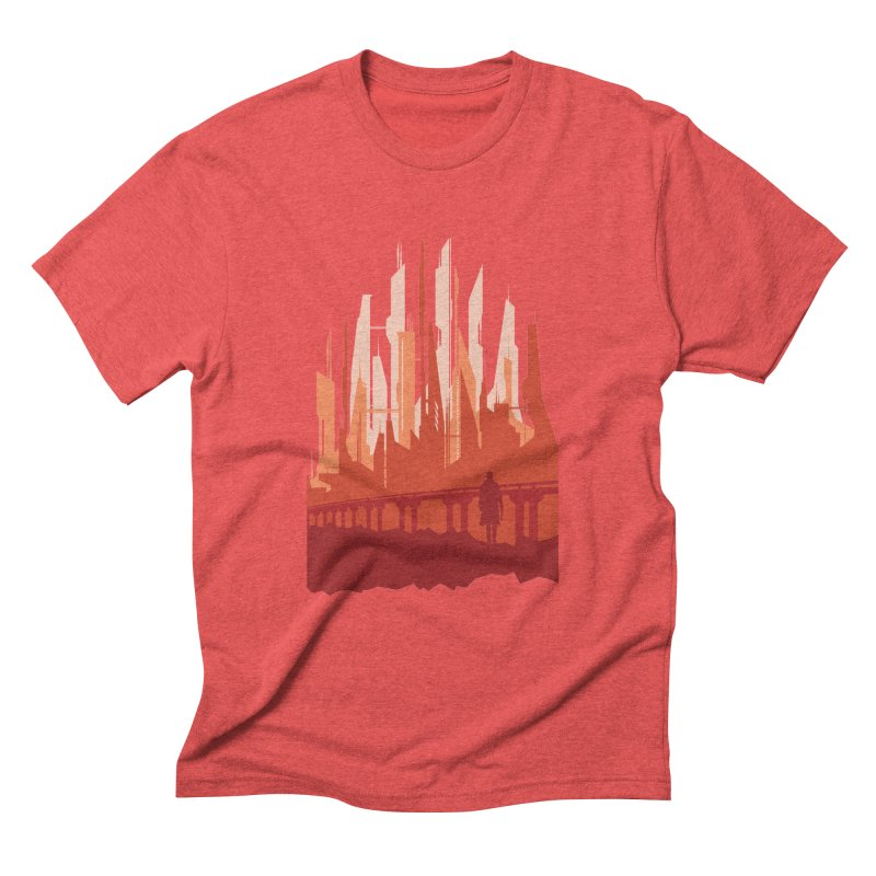 Wake Up Men's Triblend T-Shirt by igloo's Shiny Things