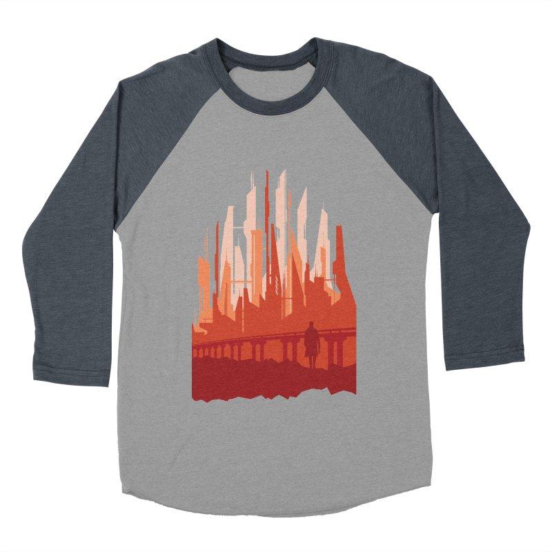 Wake Up Men's Baseball Triblend T-Shirt by igloo's Shiny Things