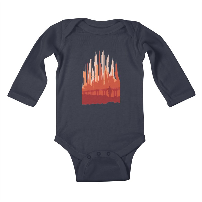 Wake Up Kids Baby Longsleeve Bodysuit by igloo's Shiny Things