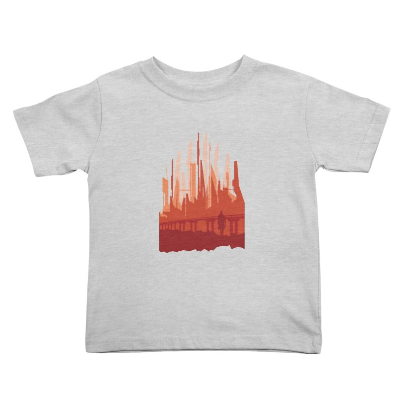 Wake Up Kids Toddler T-Shirt by igloo's Shiny Things