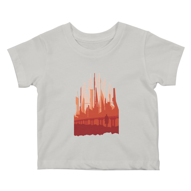 Wake Up Kids Baby T-Shirt by igloo's Shiny Things