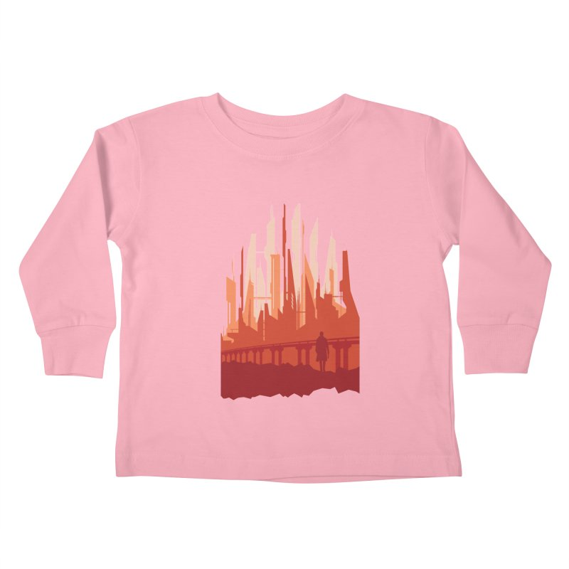 Wake Up Kids Toddler Longsleeve T-Shirt by igloo's Shiny Things
