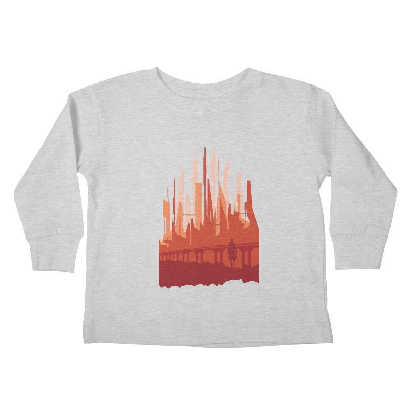 Wake Up Kids Toddler Longsleeve T-Shirt by igloo's Shiny Things