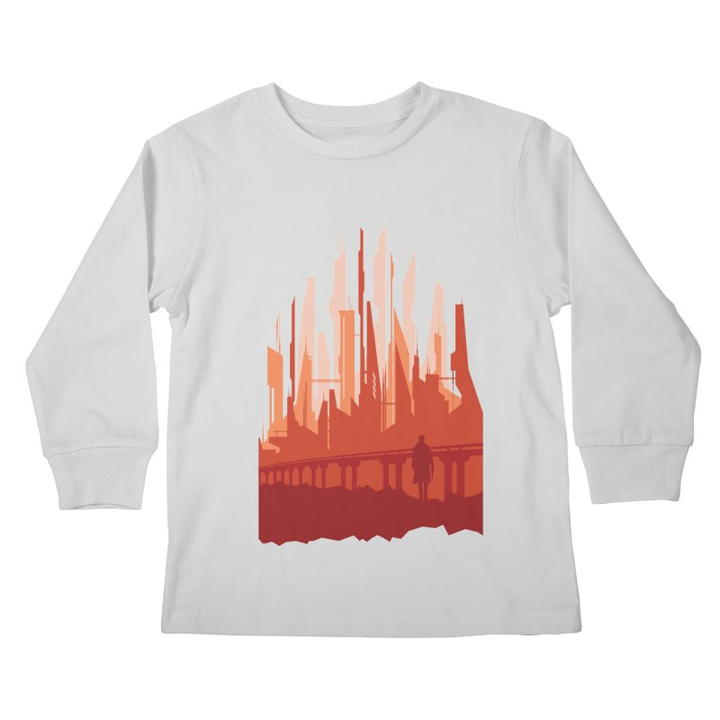 Wake Up Kids Longsleeve T-Shirt by igloo's Shiny Things