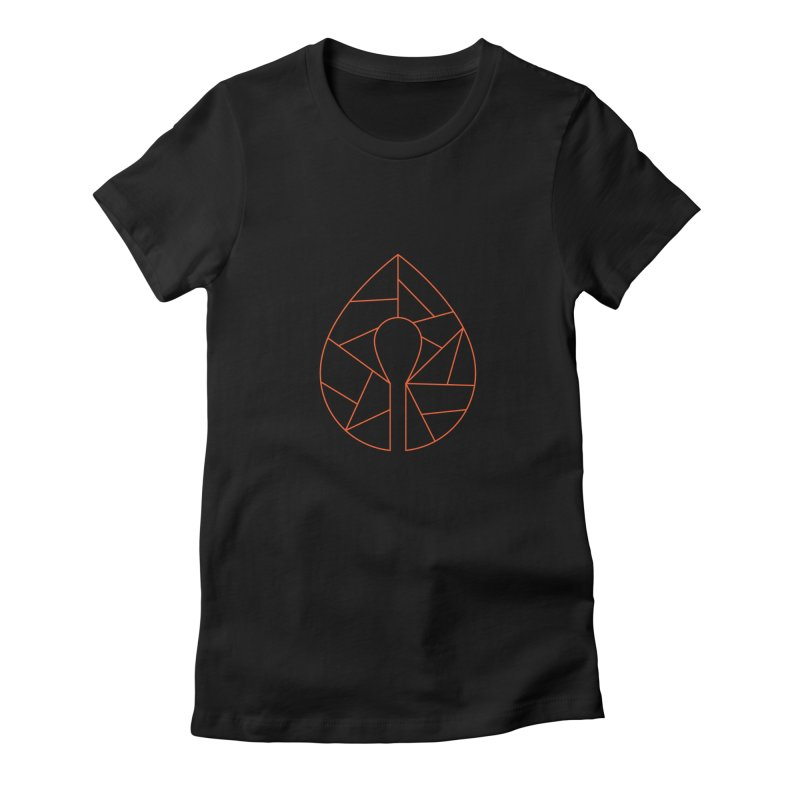 Ignite Fractal Icon Women's Fitted T-Shirt by Ignite on Threadless
