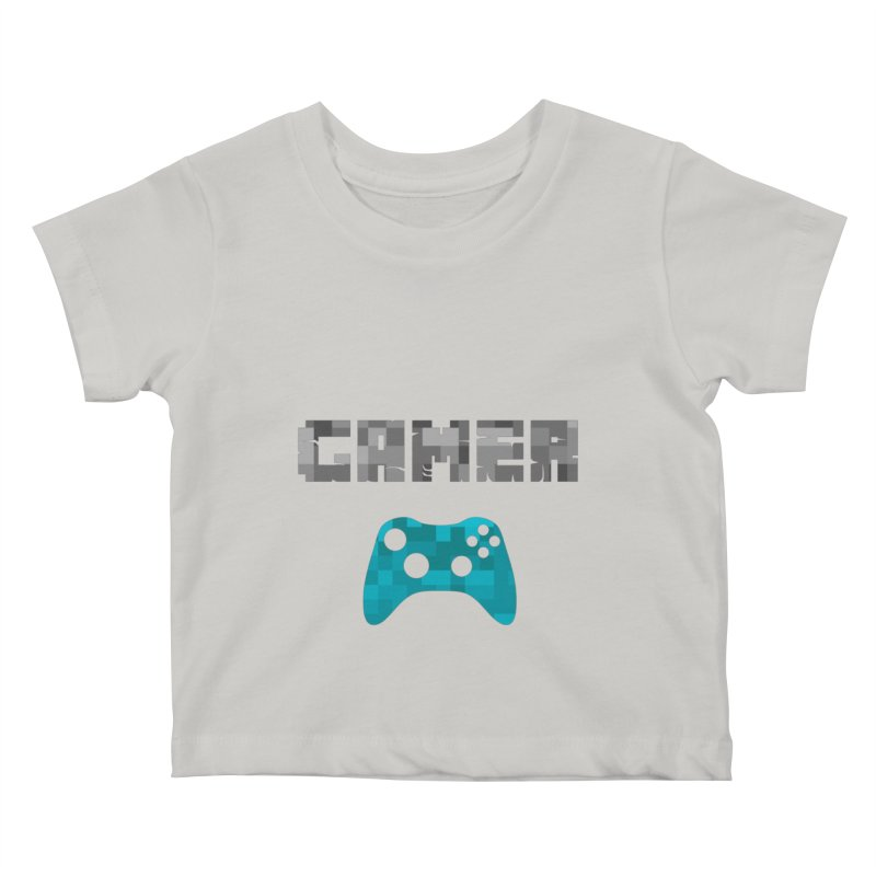 Gamer Kids Baby T-Shirt by Ignite on Threadless