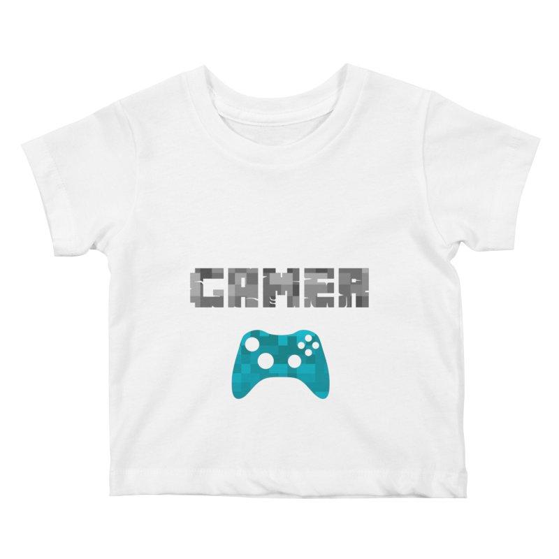 Gamer Kids Baby T-Shirt by Ignite on Threadless