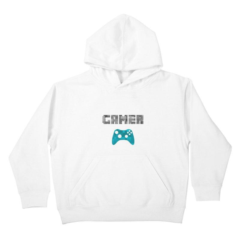 Gamer Kids Pullover Hoody by Ignite on Threadless