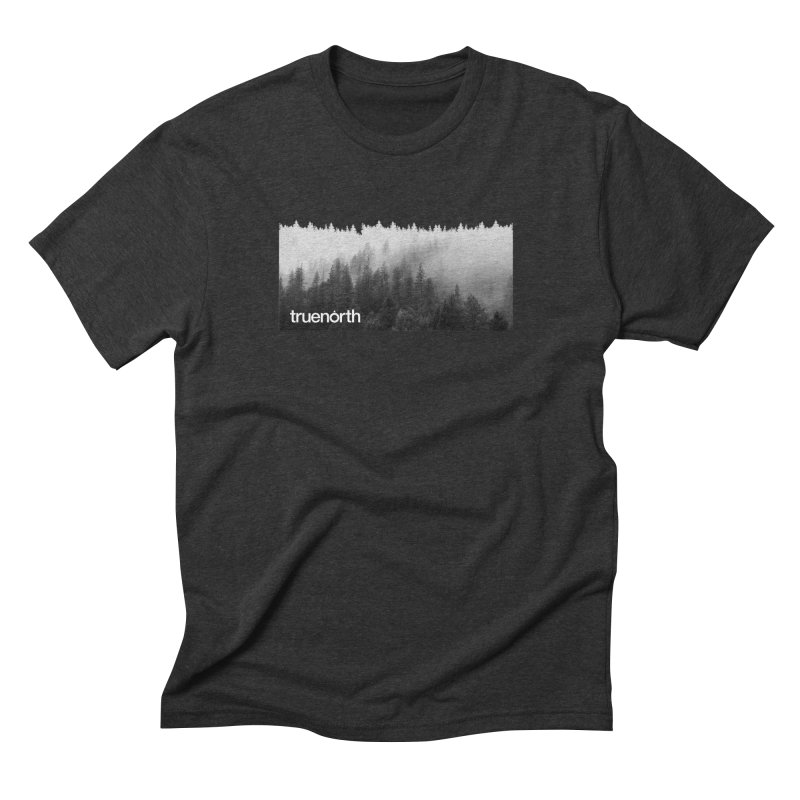 TrueNorth - Forest in the Mist in Men's Triblend T-Shirt Heather Onyx by Ignite on Threadless