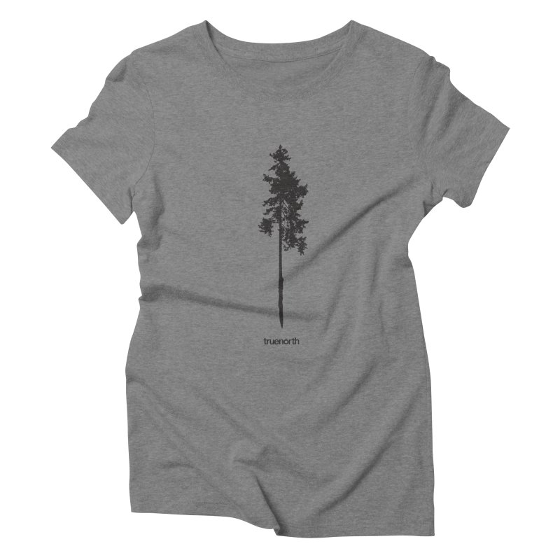 Truenorth - Treeline Women's Triblend T-Shirt by Ignite on Threadless
