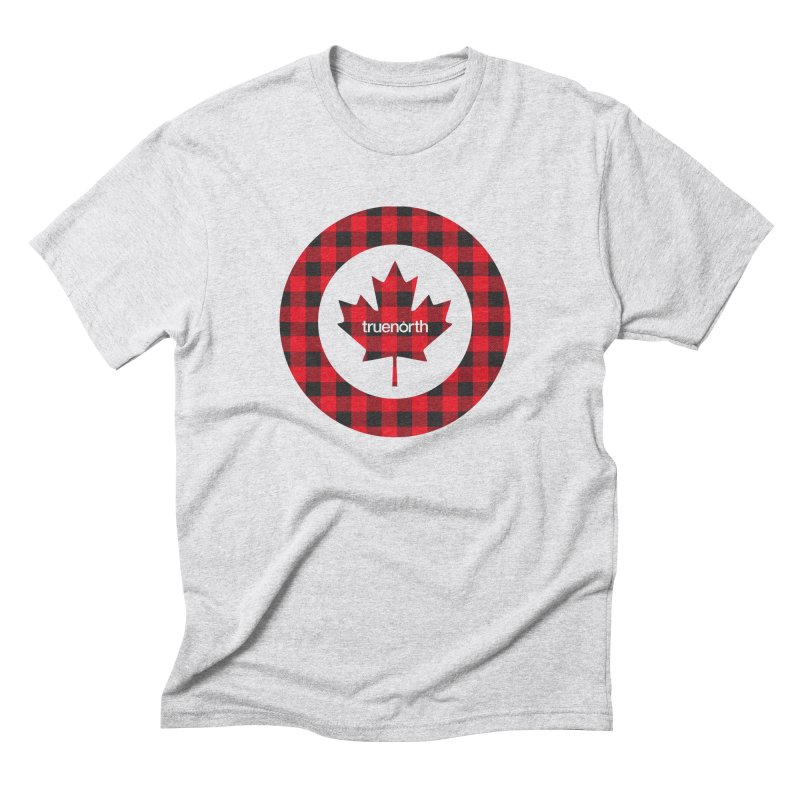 Plaidforce in Men's Triblend T-shirt Heather White by Ignite on Threadless