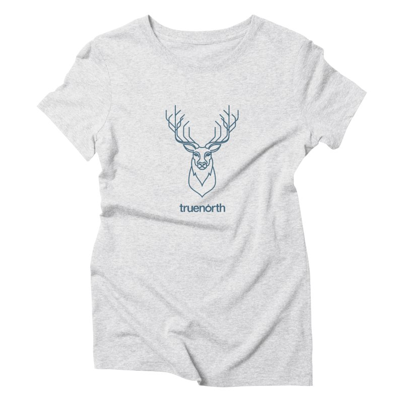 Deer Hunter Women's Triblend T-Shirt by Ignite on Threadless