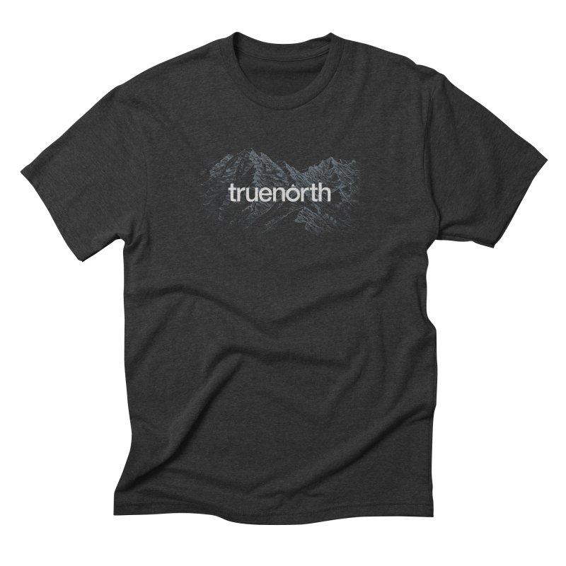 Truenorth - Sketch in Men's Triblend T-Shirt Heather Onyx by Ignite on Threadless