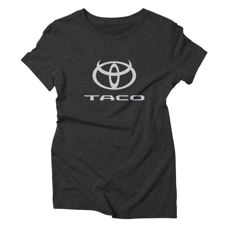 Evil Taco Women's Triblend T-Shirt by Ignite on Threadless