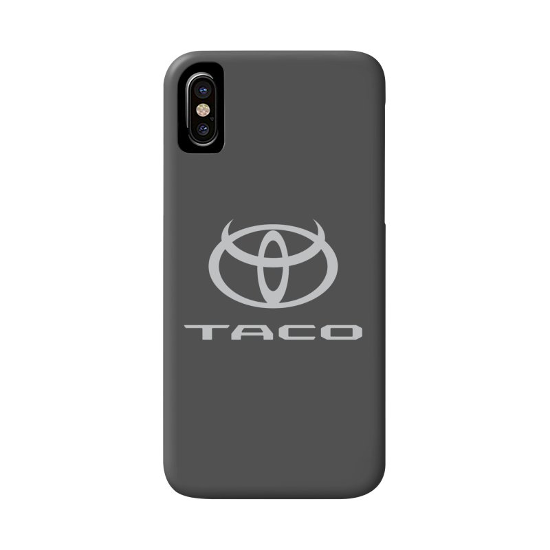 Evil Taco Accessories Phone Case by Ignite on Threadless
