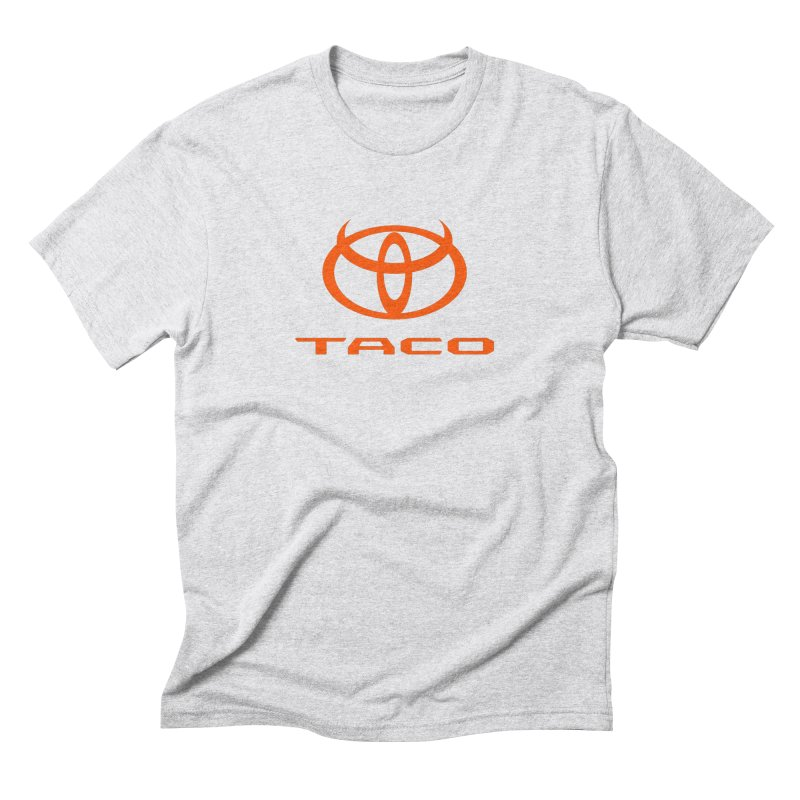 Evil Taco Orange Men's Triblend T-Shirt by Ignite on Threadless