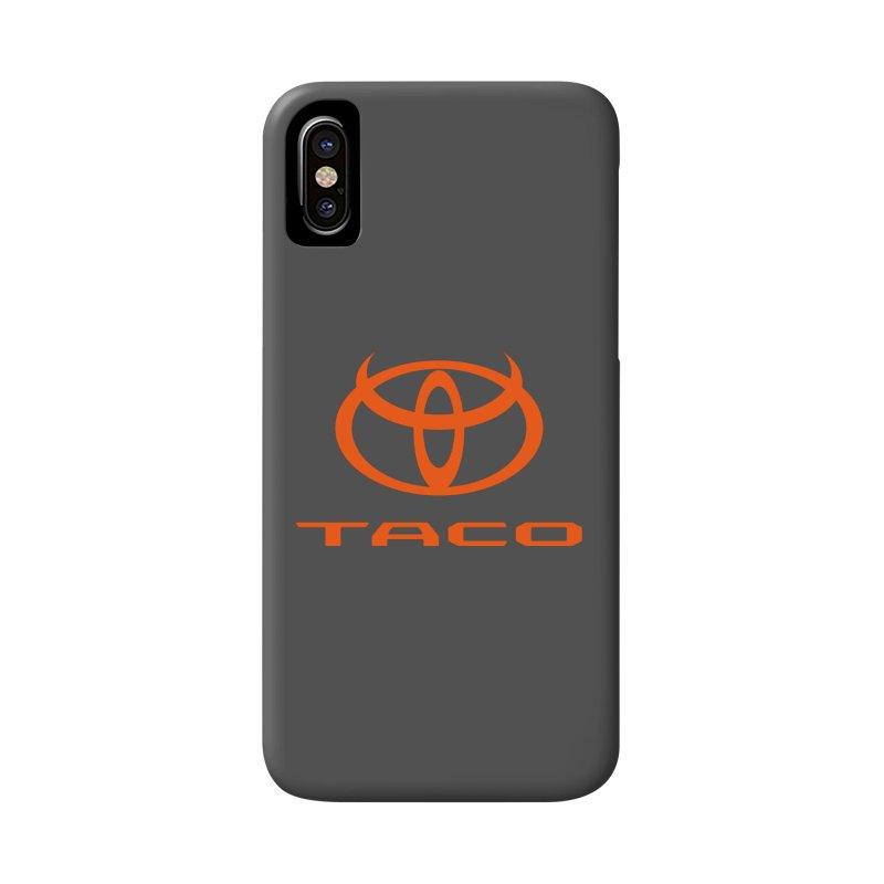 Evil Taco Orange Accessories Phone Case by Ignite on Threadless