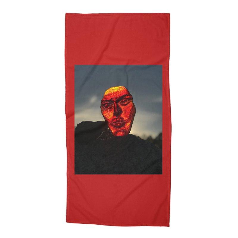 Igor Josifov - Collecting sunset light Accessories Beach Towel by Equity International - Arts & Culture's Artist Sho