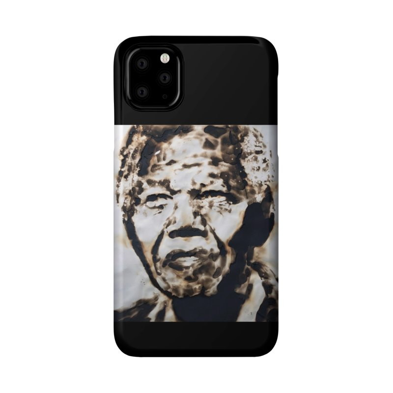 Nelson Mandela by Igor Josifov Accessories Phone Case by Equity International - Arts & Culture's Artist Sho