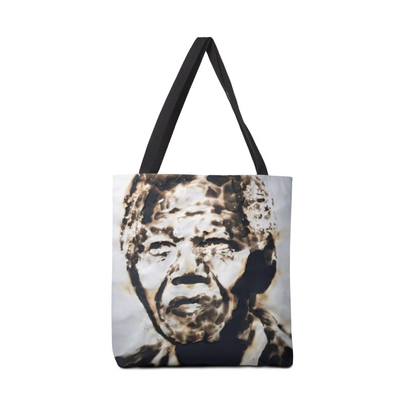 Nelson Mandela by Igor Josifov Accessories Bag by Equity International - Arts & Culture's Artist Sho