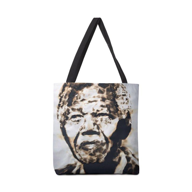 Nelson Mandela by Igor Josifov Accessories Bag by Equity International - Arts & Culture's Artist Sho